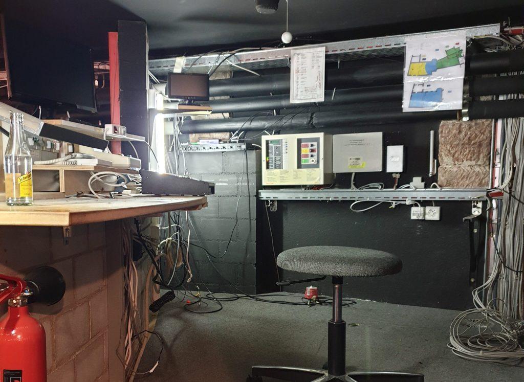 Ton- und Lichttechnikkabine